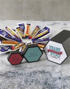 gifts: Personalised Huge Thanks Cadbury Surprise Box!