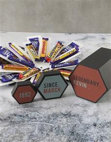 gifts: Personalised Legendary Cadbury Surprise Box!