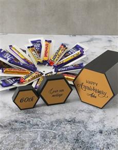 gifts: Personalised Anniversary Cadbury Surprise Box!