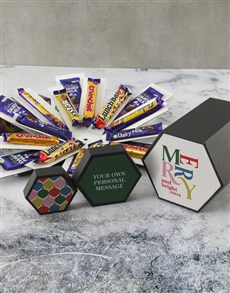 gifts: Personalised Merry Cadbury Surprise Box!