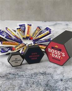 gifts: Personalised Boss Day Cadbury Surprise Box!