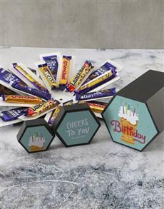 gifts: Personalised Cheers Cadbury Surprise Box!