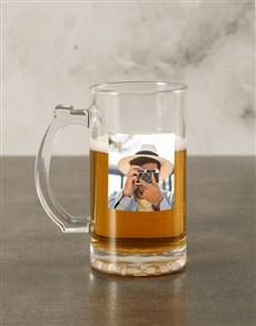 gifts: Personalised Photo Beer Mug Gift Box!