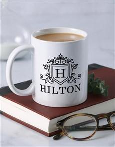 gifts: Personalised Surname Crest Mug!
