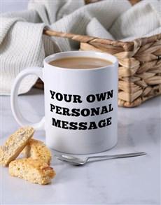gifts: Personalised Memorable Message Mug!