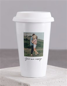 gifts: Personalised Memories On The Go Travel Mug!