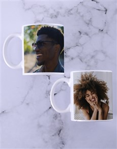 gifts: Personalised Photo Mug Set!