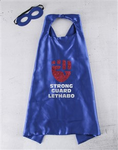 gifts: Personalised Strong Guard Cape!