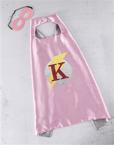 gifts: Personalised Pink Lighting Cape!