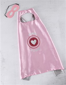 gifts: Personalised Hero Heart Cape!