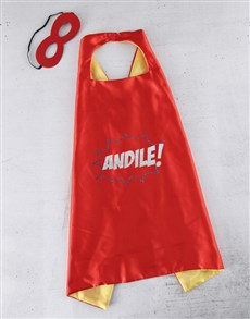 gifts: Personalised Power Cape!