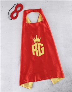 gifts: Personalised Crown Name Cape!
