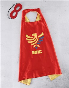 gifts: Personalised Eagle Name Cape!