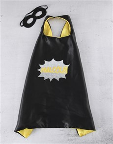 gifts: Personalised Comic Bubble Cape!