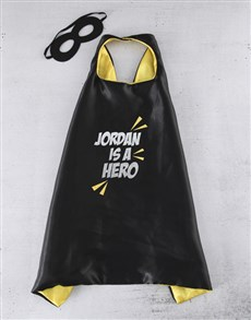 gifts: Personalised Courageous Cape!