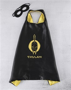 gifts: Personalised Gladiator Cape!