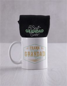 gifts: Personalised Sock Set For Grandparents Day !