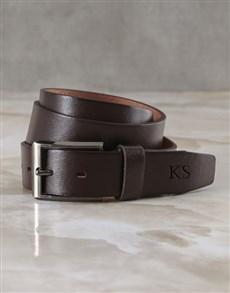 gifts: Stylish Personalised Engraved Belt!