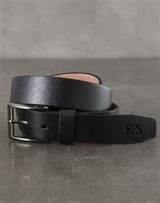 gifts: Trendy Personalised Black Belt!