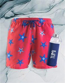 gifts: Personalised Breazies Starfish Swim Shorts !