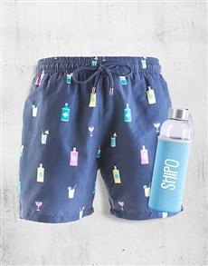 gifts: Personalised Breazies Gin Swim Shorts!