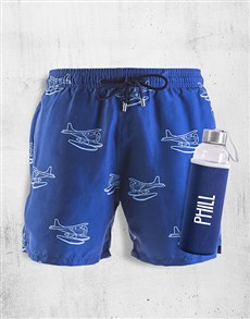 gifts: Personalised Breazies Seaplanes Swim Shorts!