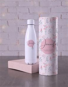 gifts: Personalised Feminine Water Bottle Tube !