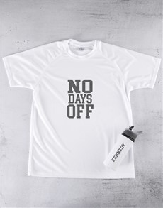 gifts: Personalised No Days Off Combo!