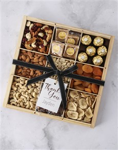 gifts: Personalised Thank You Nut Tray!