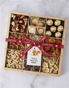 gifts: Personalised Nuts About You Nut Tray !