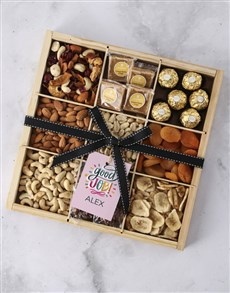 gifts: Personalised Good Job Nut Tray!