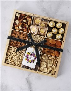 gifts: Personalised Thinking Of You Nut Tray!