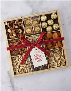 gifts: Personalised All The Best Nut Tray!