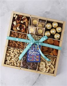gifts: Personalised Happy Birthday Nut Tray!