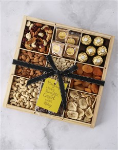 gifts: Personalised Big Hugs Nut Tray!
