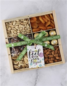 gifts: Personalised Feel Better Nut Tray!