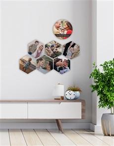 gifts: Personalised Cherished Memories Wall Art Set!