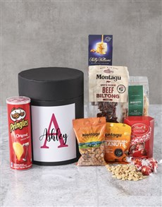 gifts: Personalised Name Snack Hat Box !
