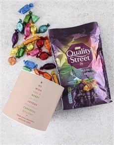 gifts: Personalised Quality Street Tube!