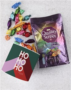 gifts: Personalised Christmas Quality Street Tube!