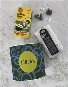 gifts: Personalised Name Rooibos Tea Tin!