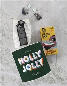 gifts: Personalised Christmas Earl Grey Tea Tin!