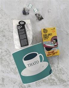 gifts: Personalised Tea Cup Tea Tin!