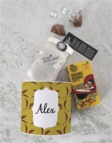 gifts: Personalised Name Tea Tin!