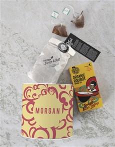 gifts: Personalised Rooibos Tea Tin!