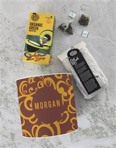 gifts: Personalised Gourmet Green Tea Tin!