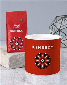 gifts: Personalised Name Coffee Tube !