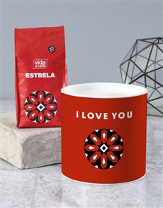 gifts: Personalised I Love You Coffee Tube !