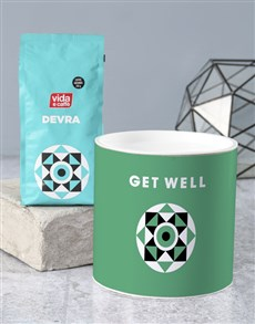 gifts: Personalised Get Well Coffee Tube!