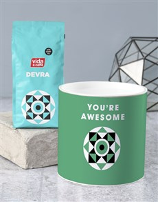 gifts: Personalised Awesome Coffee Tube!